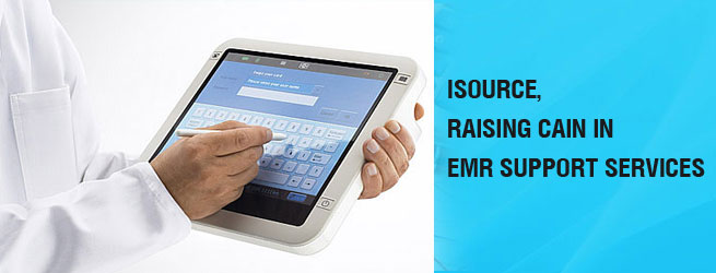 iSource RAISING CAIN in EMR Support Services